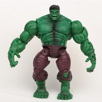 New Super Hero The Avengers Movie Toys Hulk Action Figures Toys PVC Model Dolls 18CM Action Figure Toy Hulk Smash For Boys Gift