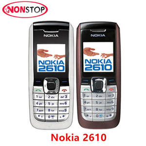 2610 Nokia 2610 Unlocked Mobile Phone MP3 GSM Cellphone