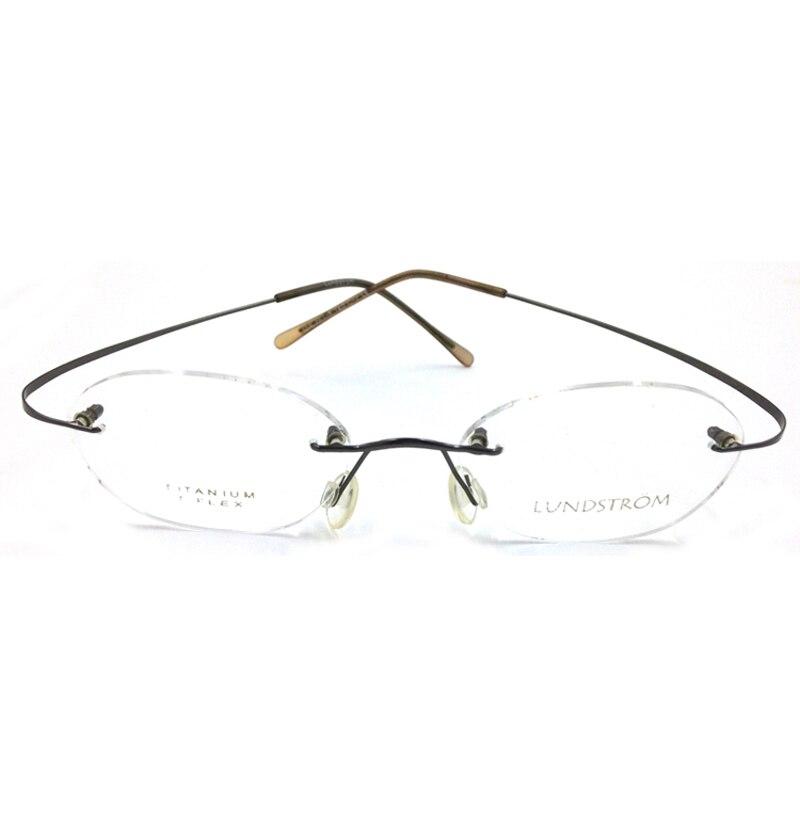 Laura Peri ultra-ringan Frame Kacamata Perempuan Laki-laki Perempuan - Aksesori pakaian - Foto 5