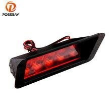Posbay универсальная красная лампа 5LED автомобиль третий 3-й стоп тормоз авто грузовой задний светильник безопасности светильник ing предупреждающий для автомобильного стайлинга задние лампы