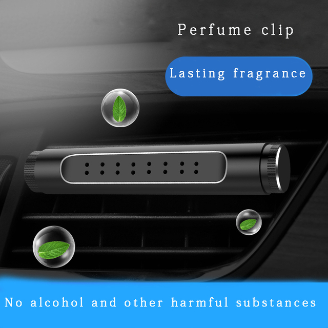 LOSFO Air freshener in the car Air outlet perfume clip 5 Smell Solid perfume Original Diffuse perfume holder flavoring for car 1