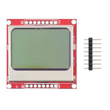 1PCS LCD Module Display Monitor White backlight Blue backlight adapter PCB 84*48 84×84 Nokia 5110 Screen for Arduino