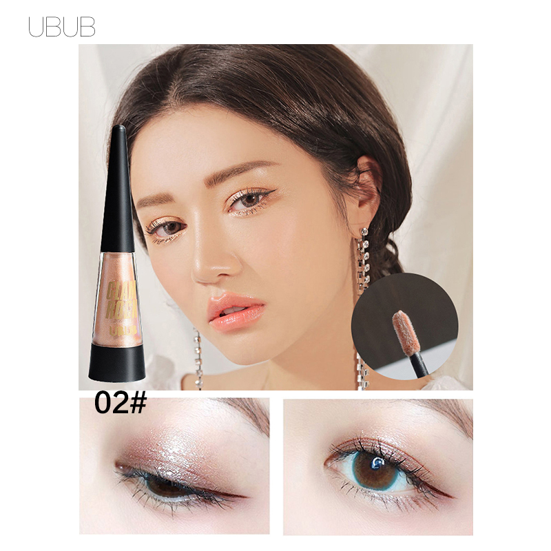 Ubub New Arrivals Charming Matte Eye Shadow Palette Waterproof 2 Colors Shimmer Pigmented Glitter Eyeshadow Powder Eyes Makeup Excellent In Cushion Effect Eye Shadow Back To Search Resultsbeauty & Health