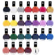 26 цветов 10 мл штамп для дизайна ногтей штамповка перенос лака