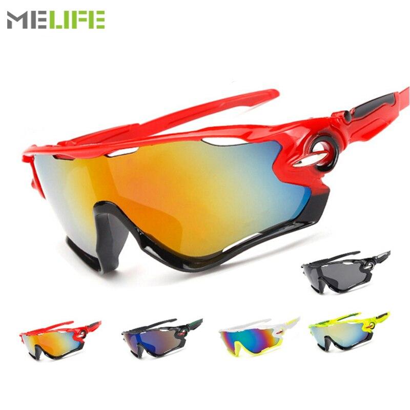 MELIFE Cycling Eyewear Skiing Goggles Outdoor UV-400 Sun Protection Motocross Sunglasses Windproof Fishing Glasses Men Women