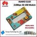 Cheapest original unlock hsdpa 7.2 mbps huawei e153 3g usb módem con ranura para tarjeta sim 850,1900, 900,2100 mhz