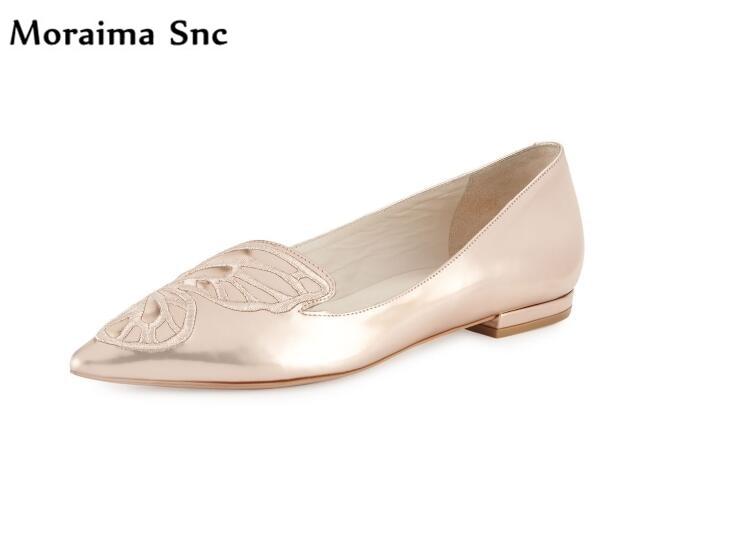 Здесь продается  Moraima Snc 2018 hot selling summer comfortable flats pointed toe shallow slip-on concise type cause shoes sexy women   Обувь