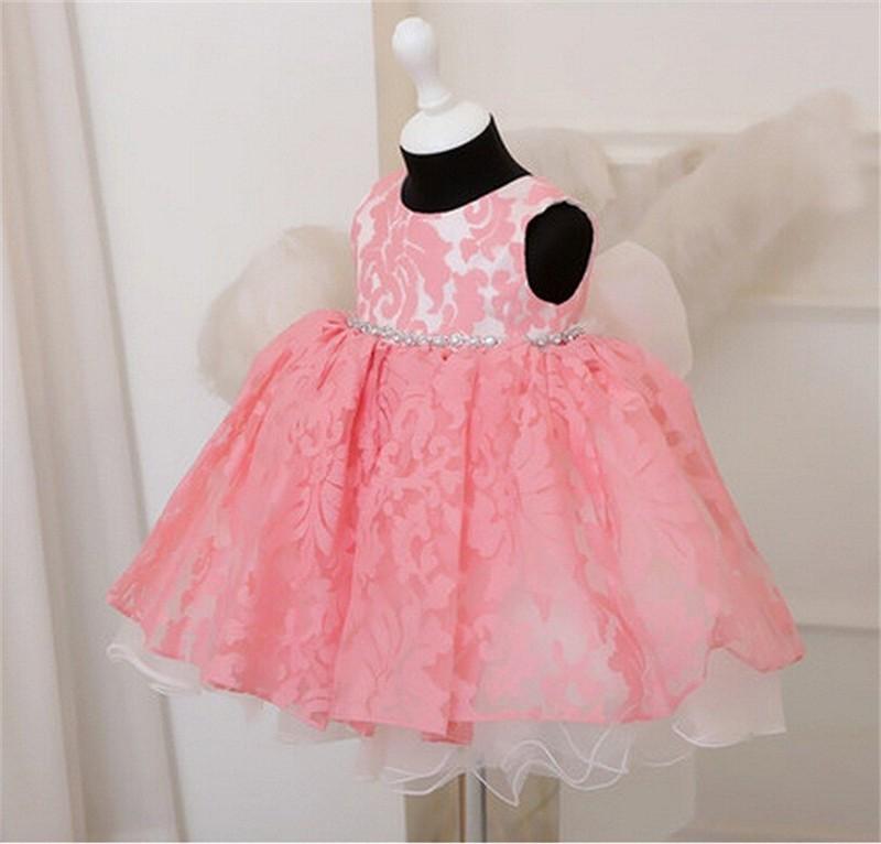 Newborn Bow Dress Baby Girl (20)