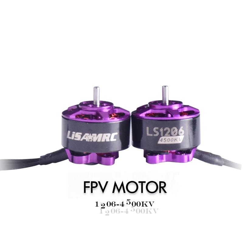 Oyuncaklar ve Hobi Ürünleri'ten Parçalar ve Aksesuarlar'de 4 adet Yeni FPV Motorlar 1206 Motor 4500kv Motorlar fırçasız Motor Yarış Motor Için Mini FPV Multicopter Mikro Drone DIY Aksesuarları'da  Grup 2