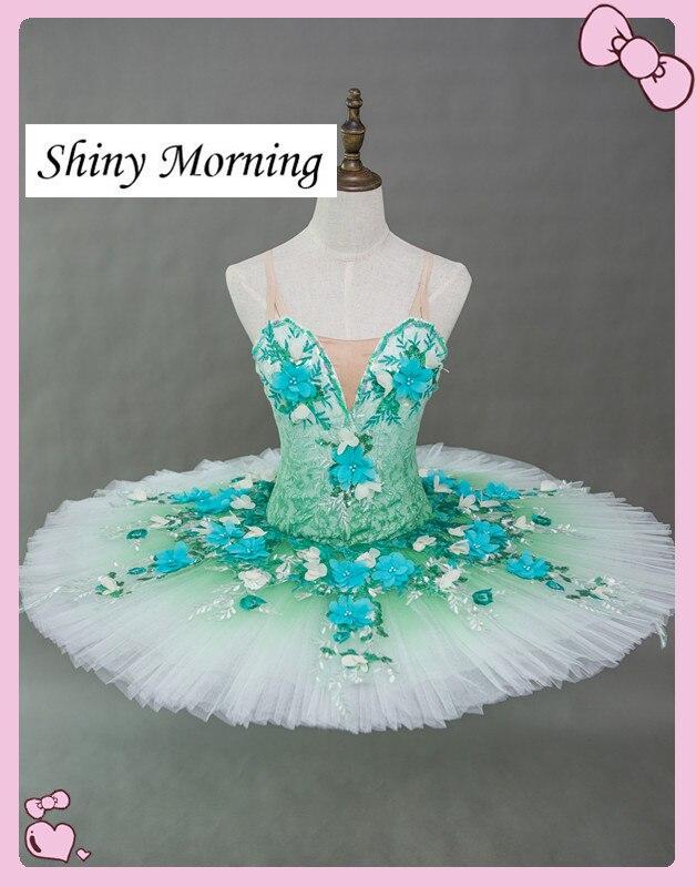 Swan Lake Professional Pancake Tutu Sleeping Beauty Sugar Plum Fairy Dew Drop Peach fairy Coppelia Paquita