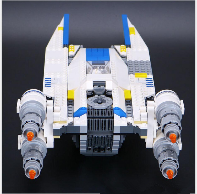 New 679pcs Lepin 05054 Genuine Star Series The Rebel U-Wing Fighter Set Building Blocks Bricks Toys 75155 new 679pcs lepin 05054 genuine star war series the rebel u wing fighter set building blocks bricks toys 75155