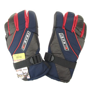 Fashion winter thickening 12 Men space cotton ski gloves ride thermal slip-resistant windproof waterproof