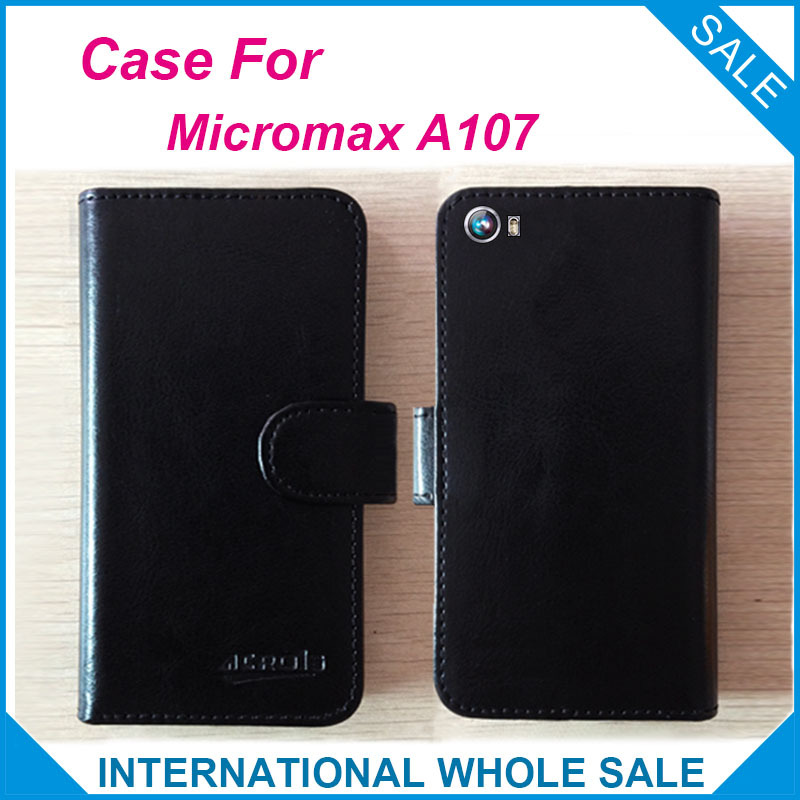 Micromax A107 Case Factory Price Original Flip Leather Exclusive Cover For Micromax Canvas Fire 4 A107 Case tracking number