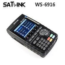 [ของแท้] S Atlink WS-6916 HD DVB-S2ความละเอียดสูงค้นหาดาวเทียมดาวเทียมเมตรMPEG-2/MPEG-4 S Atlink WS6916 6916