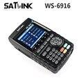 [Genuine] ws-6916 satlink hd dvb-s2 localizador via satélite medidor de satélite de alta definição mpeg-2/mpeg-4 ws6916 satlink 6916