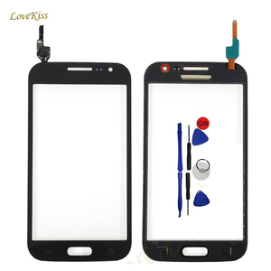 Image 1 - Touch Screen Sensor For Samsung Galaxy Win i8550 i8552 Duos GT i8552 8550 8552 Touchscreen Panel Digitizer Front Glass Tools