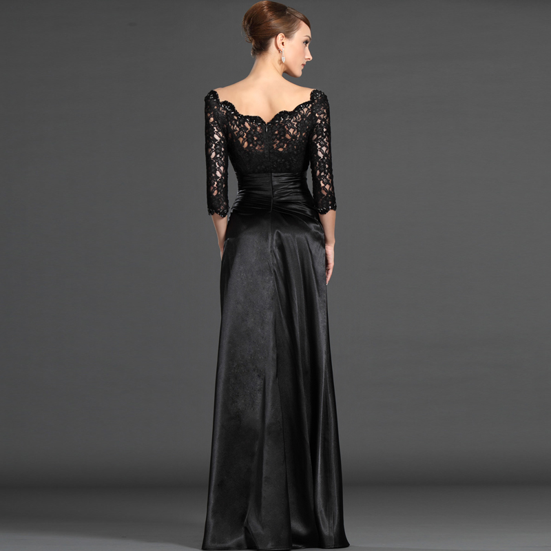 Aliexpress.com   Buy z 2016 new arrival stock maternity plus size bridal  gown evening dress long lace sexy black romantic Black 5838 from Reliable  gown ... a772f04a0928