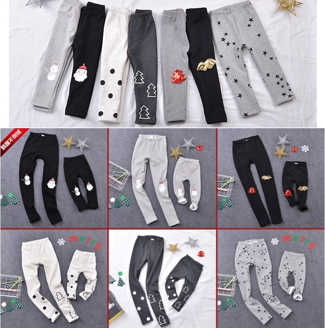 2016 Family Set Christmas Family Matching Pants Clothing Mother Daughter Pants Mom and Daughter Clothes Family Clothing WY88