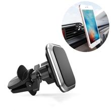 Магнитный автомобильный держатель для Iphone XS X 8 7 6 Xiaomi смартфон мобильный телефон стенд Автомобильный воздушный вентиляционный держатель Магнитный держатель 360 градусов