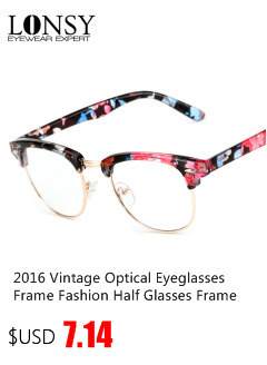 2017 Que Restaura maneras antiguas ronda gafas de lectura Miopía ... 7886532defb2