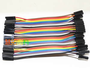 Jumper-Wire Dupont-Cable 1pin for Breadboard Power-Module 40pcs/Lot 10cm Female-To-Female