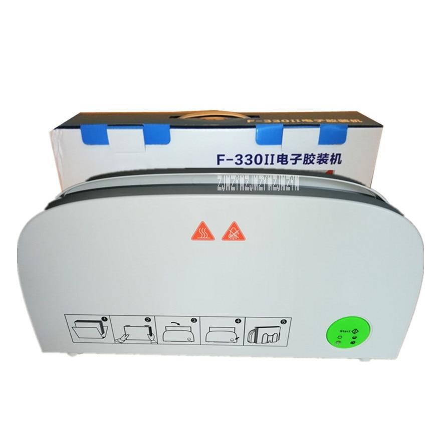 F330 Glue Binding Machine Booklet Maker Small Document