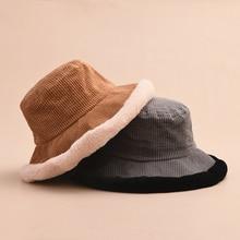 MAXSITI U осенние и зимние шапки винтажные вельветовые сплайсинговые плюшевые Панамы