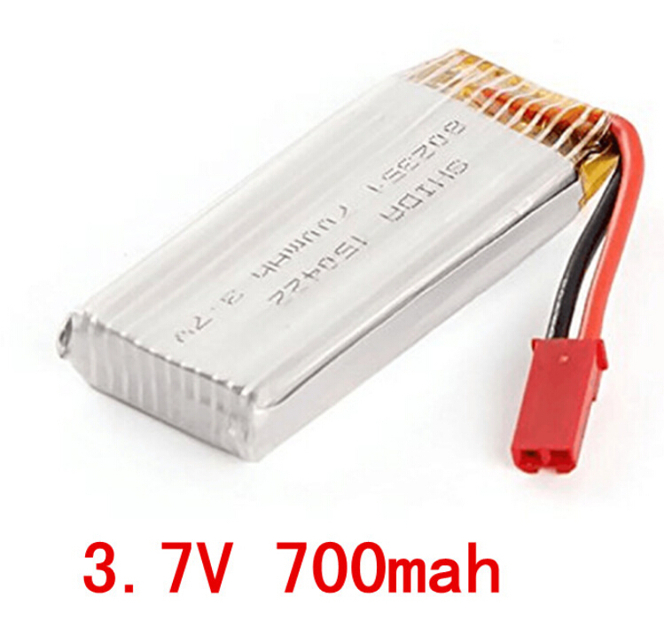 Free Shipping 3.7V 700mAh Li-po battery for SKY Hawkeye HM1315   HM1315S  FPV RC Quadcopter HM1315 spare parts 4d254b5546048