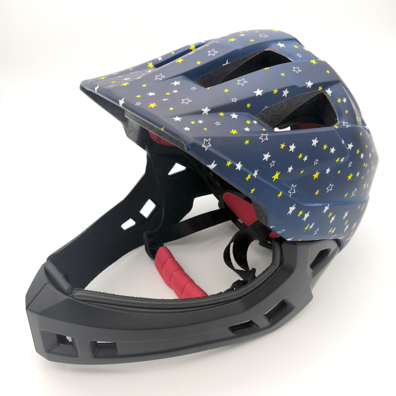 Headbone 2-15 Year Old Covered Kid Balance Bike Children Full Face Safety Helmet Child Skating Cycling Helmets(China)