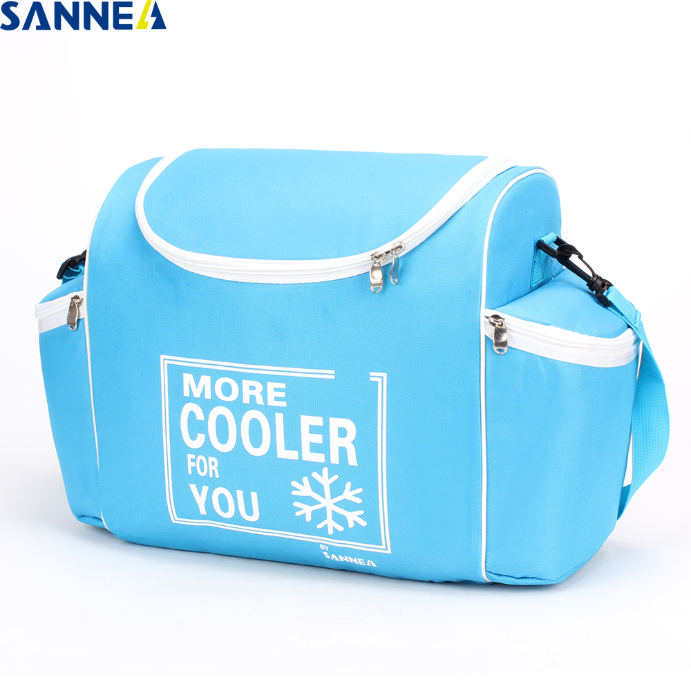 SANNE 2018 New Design Lunch Bag for Men Women Double Decker Lunch box Insulated Storage Container Picnic Bags Thermal CL2017-1 ...