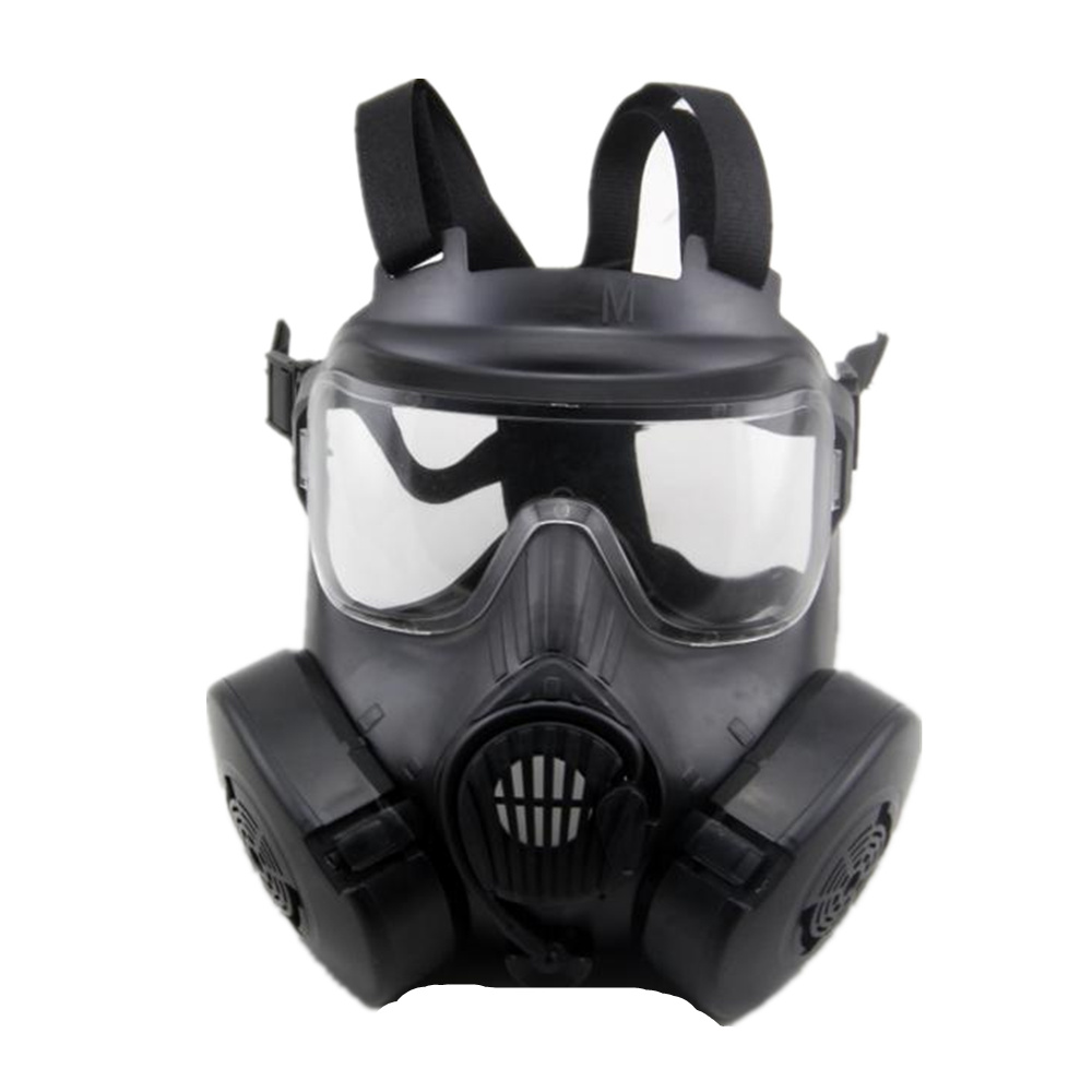 tactical skull face mask military Field US active-duty M50 gas mask CS field skull mask for hunting paintball chief sw2104 skull style full face mask for war game cs black