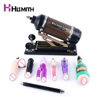 Hismith Sex Machine for women with 8 different attachments Pumping & Thrusting Adjustable Love machine gun sex products