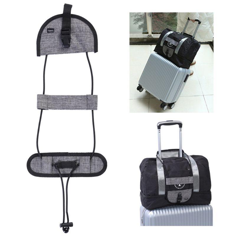 Bag Bungee Luggage Straps Adjustable Travel Suitcase Belt Carry On Strap