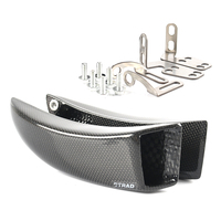 Brake System Carbon Fibre + Mounting kit Moto GP Ducts Cooling For DUCATI MULTISTRADA 1200S Tours 2013 2014