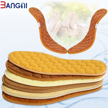 3ANGNI Winter Warm Insoles Heated for Man Woman Shoes Soles Pad Thick Thermal Insole