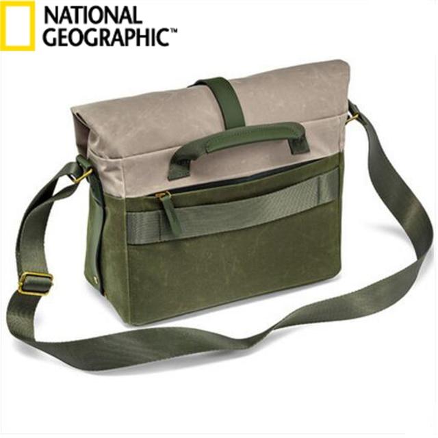 3952e4b8b4 National Geographic NG RF 2350 Camera Video Bag Backpack Leather Crossbody  Bags Digital Camera Mini SLR Carry Bag For Gopro Hero