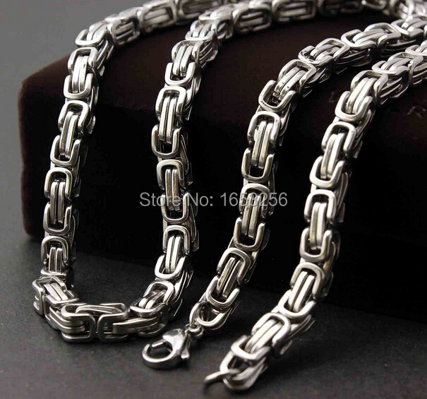 """32/"""" 15 mm Punk Acier Inoxydable Grande Chunky Curb Chain Link Men/'s Necklace"""