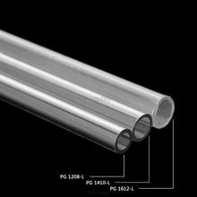 OD 12mm 14mm 16mm PETG chłodzenie wodne sztywna sztywna rurka do PC układ chłodzenia wodą 50cm AUG_22 Dropship