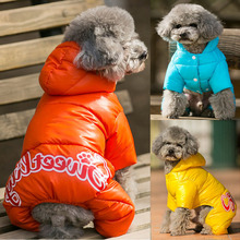 Down-Jacket Winter Yorkshire Coat Puppy Terrier Dogs Chihuahua for Small Warm French