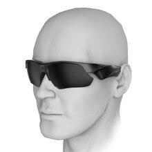 Negro gafas de Sol Polarizadas de la Lente HD 1080 P Gafas de Cámara de Vídeo de la Acción Del Deporte Al Aire Libre gafas de Sol W2313A de Electrónica de Consumo