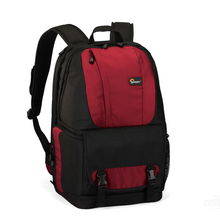 Cheapest prices hot sall Genuine Lowepro Fastpack 250 aw (red) Photo DSLR Camera Bag Digital SLR Backpack laptop 15.4″ with All Weather Cover