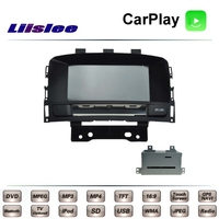 For Ople Astra J GTC For Holden For Vauxhall 2009~2015 Liislee Car Multimedia TV DVD GPS Radio Carplay Navigation Navi