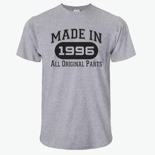 Men's T-Shirts Fashion 21st Birthday Gifts Made 1996 All Original Parts T-Shirt