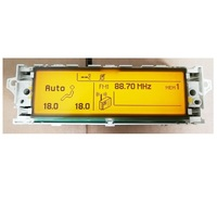 Car Screen support USB Dual zone air Bluetooth Car Display yellow monitor 12 pin Suitable 307 407 408 C4 C5