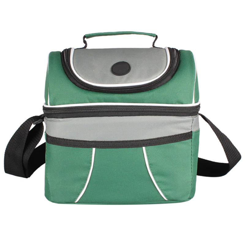 Portable Thermo Lunch Bag Women Men Kid Thermal Food Picnic Launch Box 10L Cooler Tote Handbags