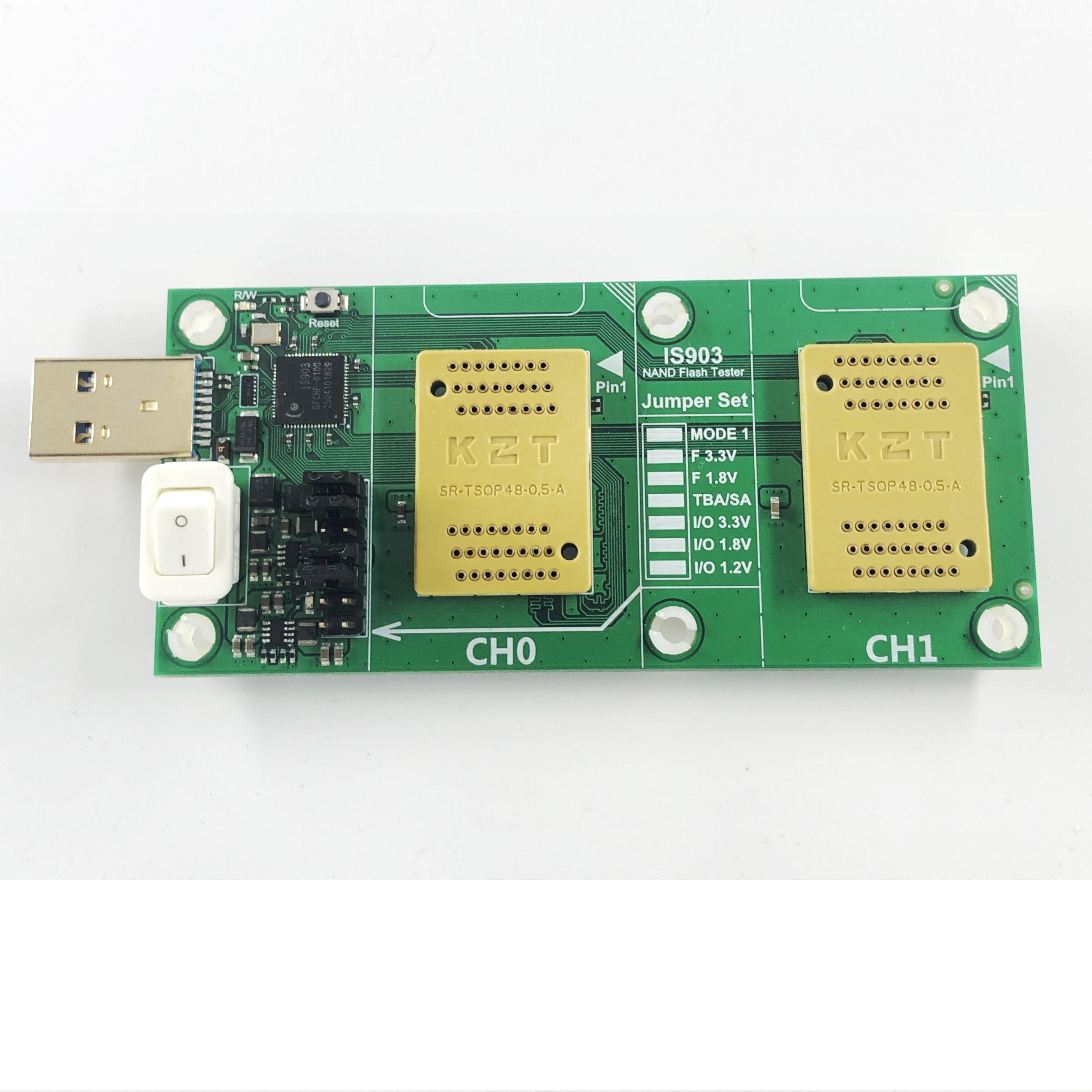KZT SSD Test NAND flash SM2246EN bga132/152/88 flash test