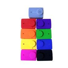 Xiaomi Yi 4 К + плюс Аксессуары Защитный силиконовый чехол с объектива защитный колпачок для Yi Xiaomi Yi 4 К /Yi 4 К плюс экшн-камеры