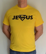 SUPER JESUS ,JESUS,CHRISTIAN,GOD,RELIGION,FUN,T SHIRT Free shipping Tops t-shirt Fashion Classic Unique gift cross t shirt religious religion swag jesus god christian faith bnwt gothicfree shipping tops t shirt