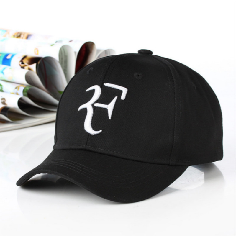 Cotton Roger Federer Dad Hat   Cap   For Men 3D Embroidery   Baseball     Cap   Unisex Snapback   Cap   Hip Hop F Hats Summer Kpop Sports Gorras