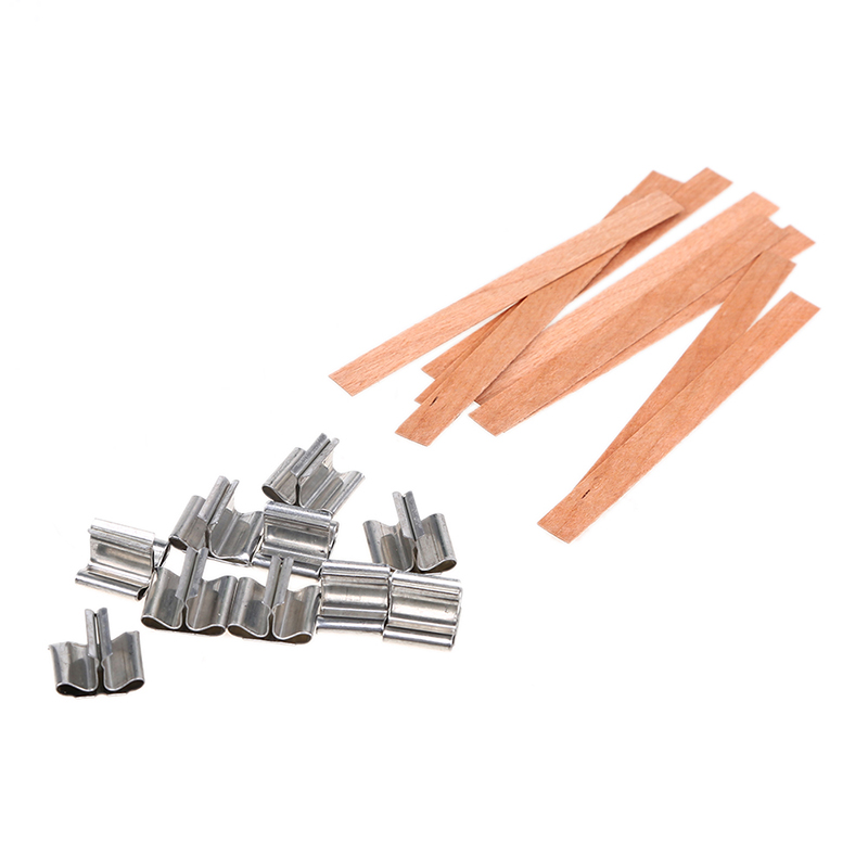 210109010131 (12)  WHISM 10PCS Handmade Wooden Candle Wicks DIY Candle Making Provides Picket Wax Candle Sustainers Core with Steel Stand Dwelling Decor HTB18TlqeBfM8KJjSZFrq6xSdXXaa